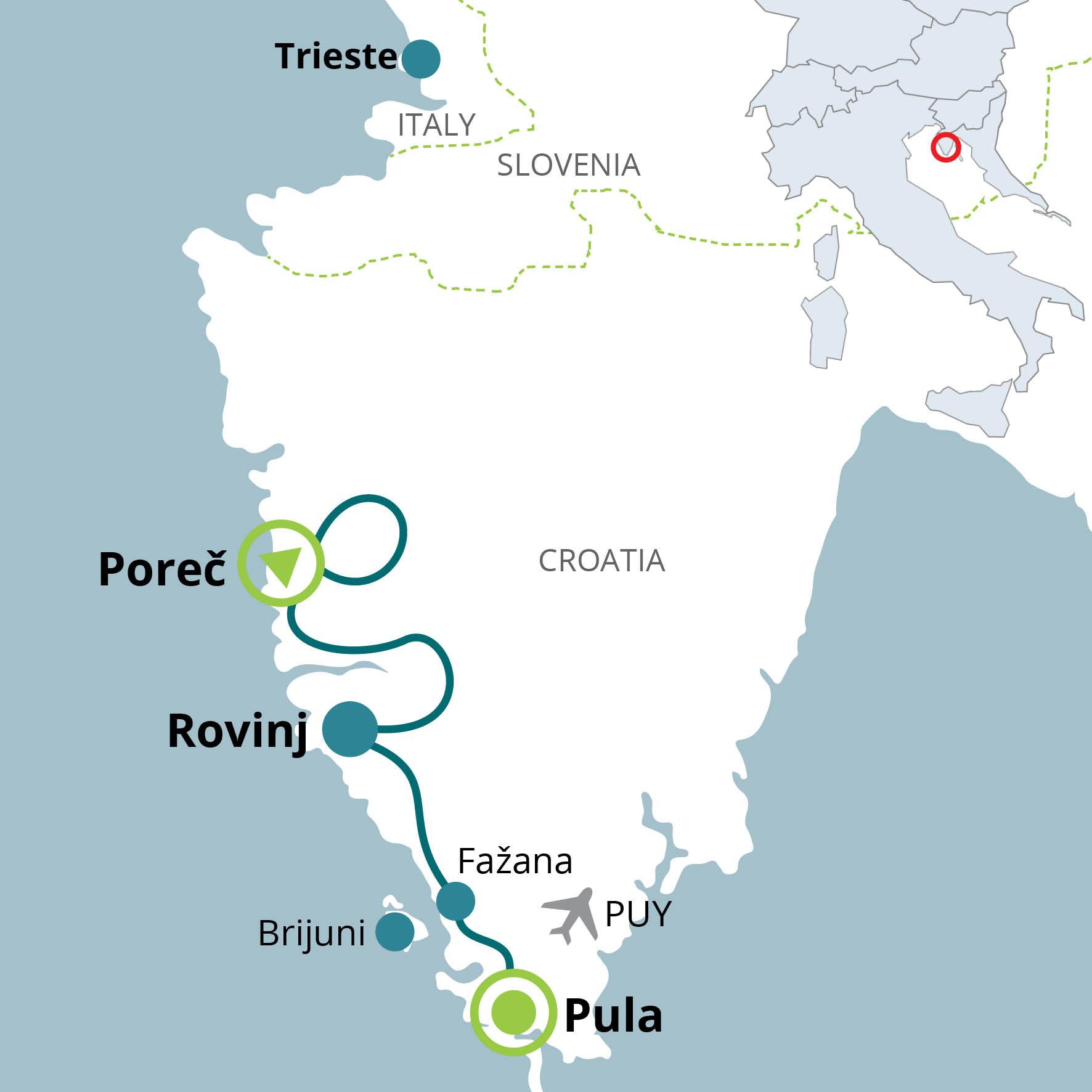 Short break, Parenzo - Pola – FunActive TOURS