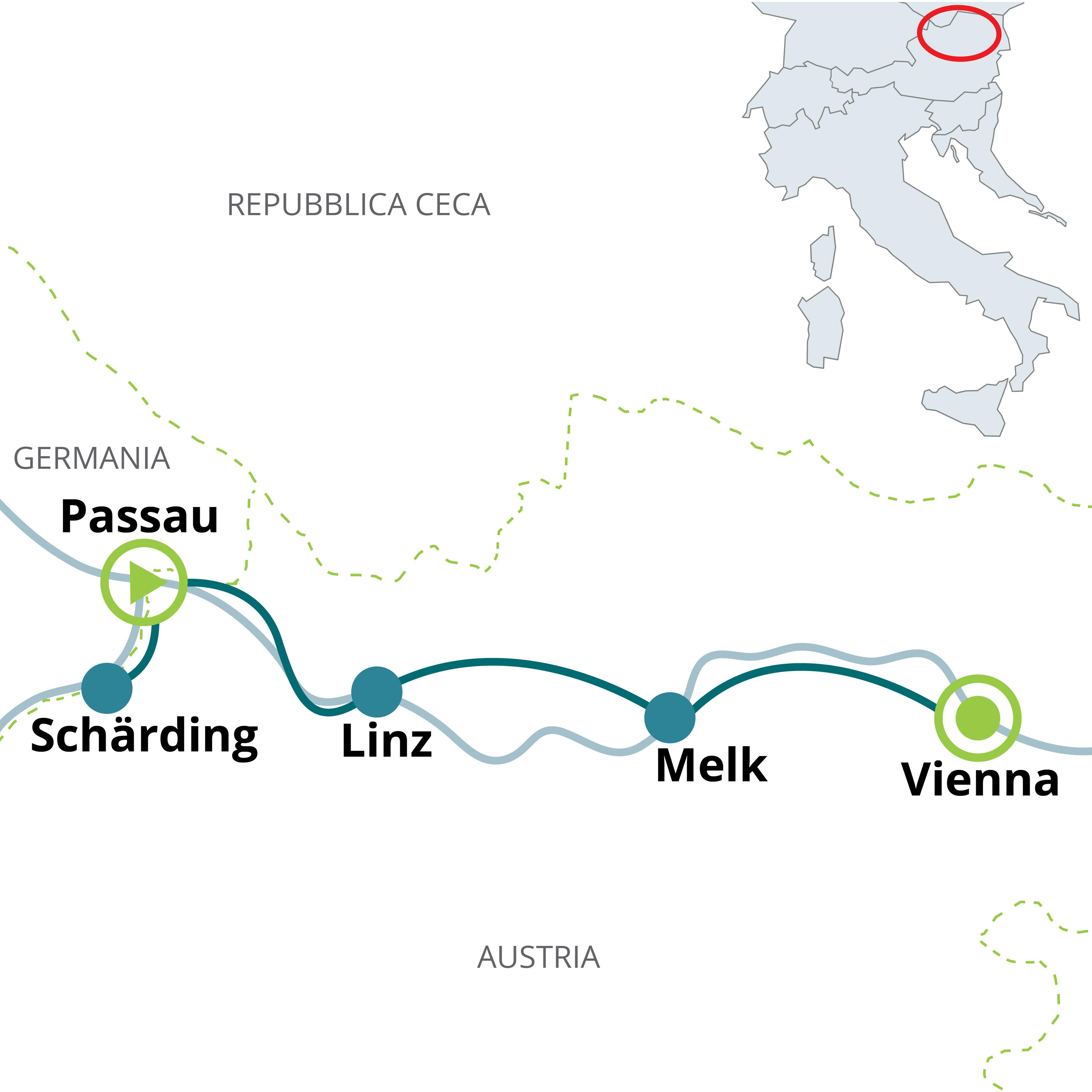 Viaggio In Bici Da Passau A Vienna Lungo Il Danubio Funactive Tours